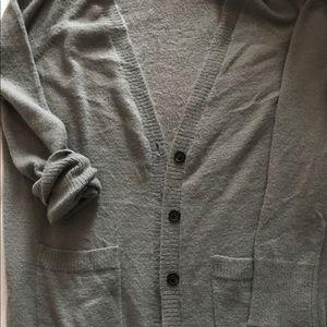 American Eagle Grey Super Soft Cardigan